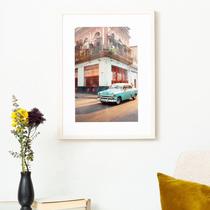 Framebridge Black Artists Print Shop Tom Harris Cuba 1/1 framed print