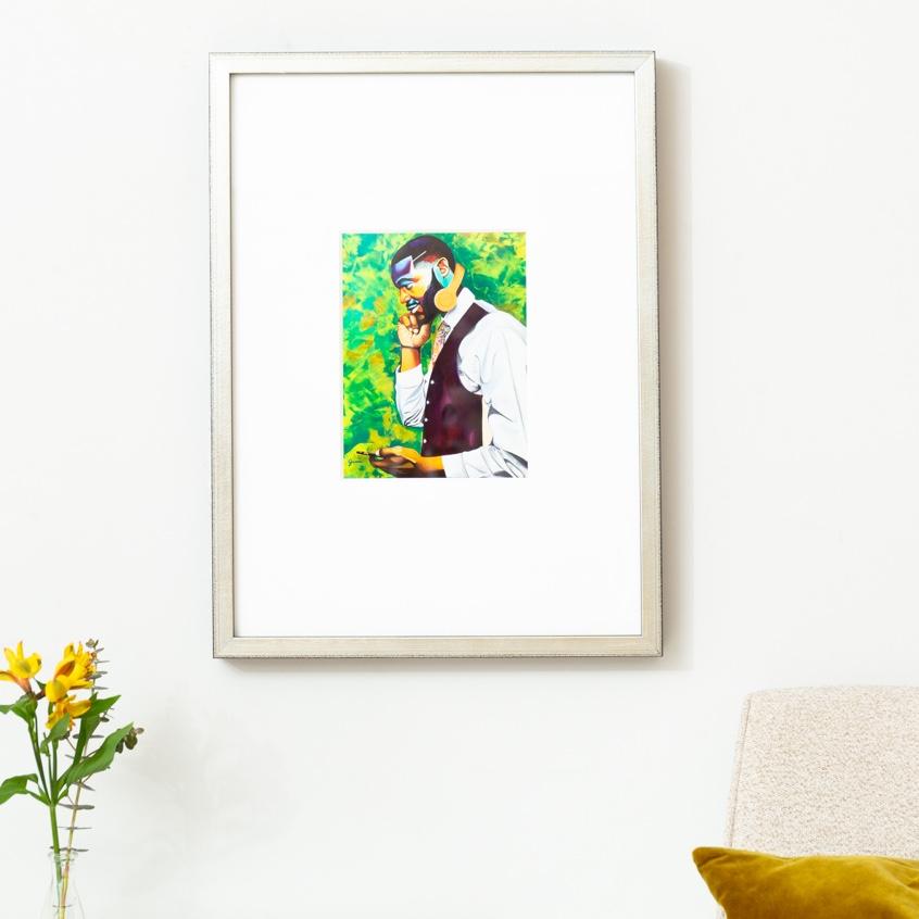 Framebridge Black Artists Print Shop Jamie Bonfiglio Untitled' framed print
