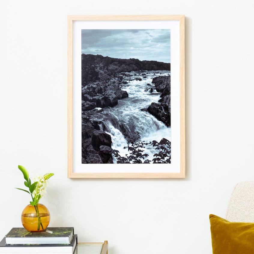 Framebridge Black Artists Print Shop Bernard Essiful Great Falls framed print
