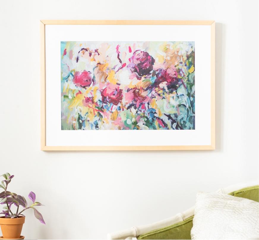 Framebridge Black Artists Print Shop Amira Rahim Framed Print She Was Gone With the Wind