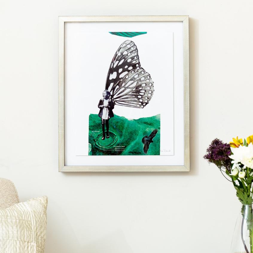 Framebridge Black Artists Print Shop Christa David This Joy I Have the World Didn't Give It framed print