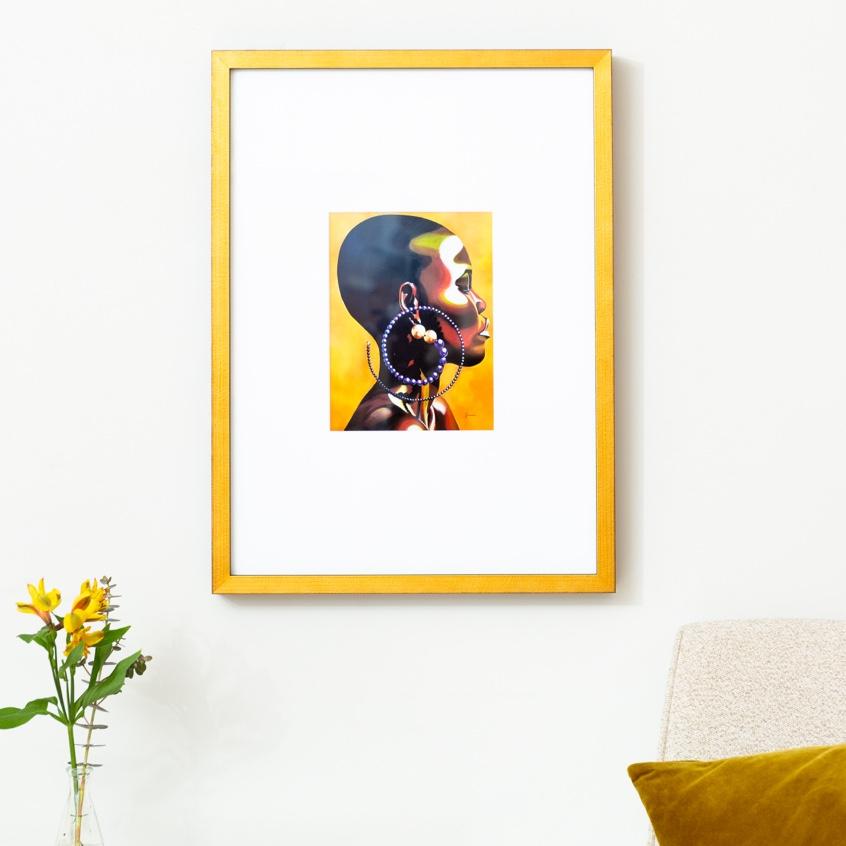 Framebridge Black Artists Print Shop Jamie Bonfiglio Freedom framed print