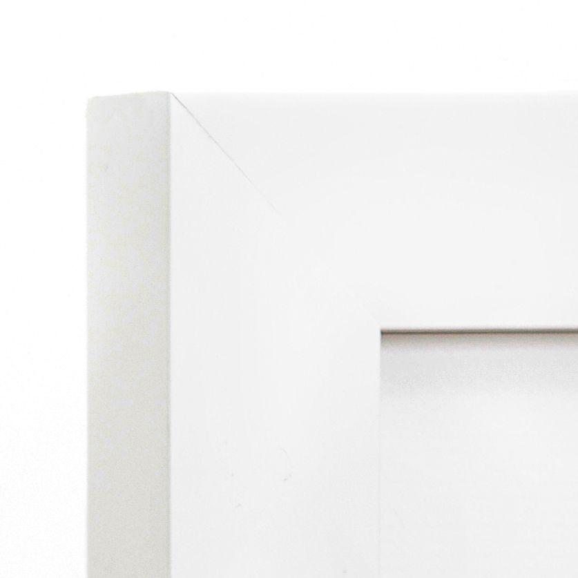 Irvine Frame Corner –16x20 white frame