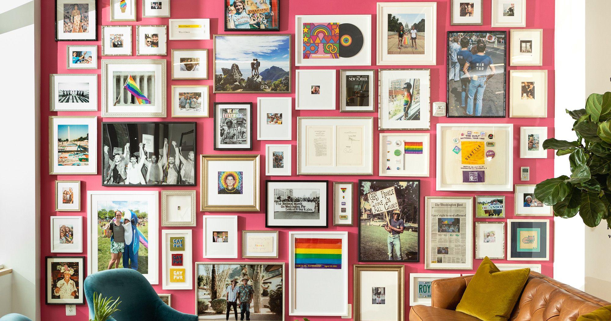 Pride Gallery Wall