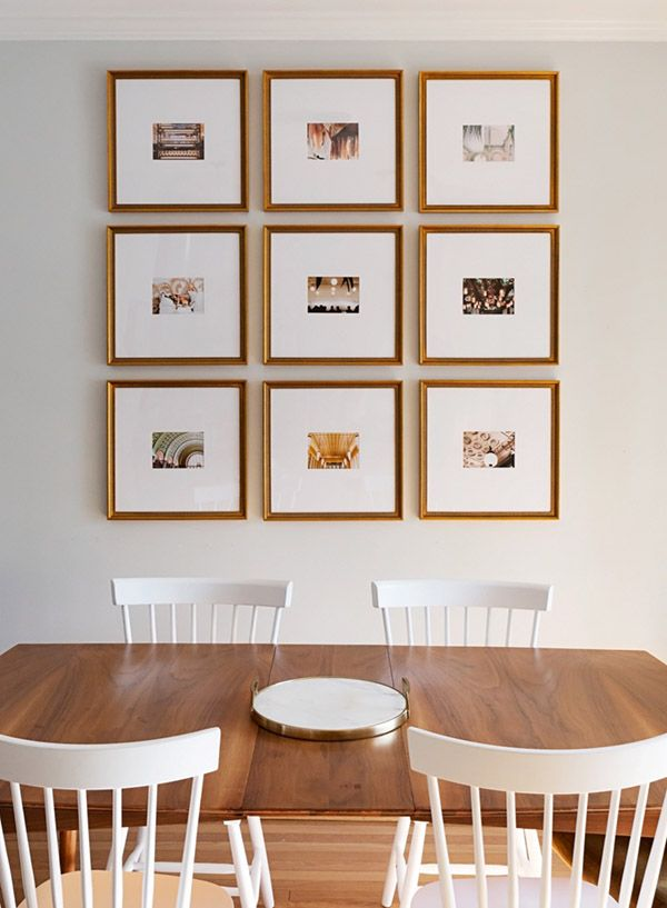 How to hang gallery walls
