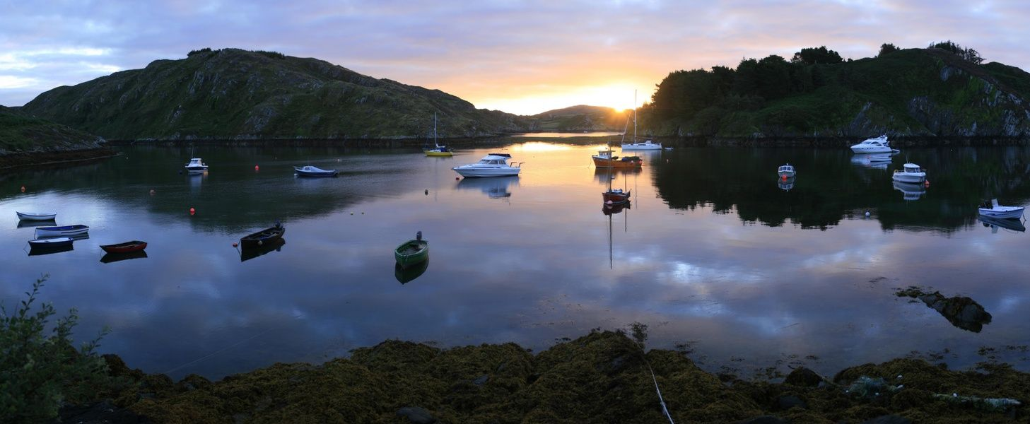Kayaking in Lough Hyne is one of the best things to do in Ireland
