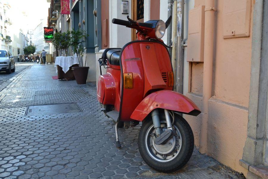 Scooter Spain transportation