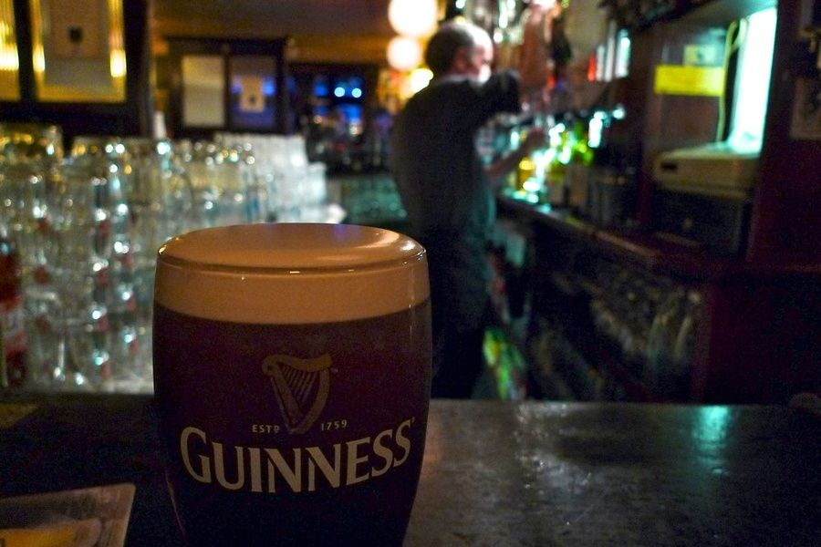 Having a pint at Sean's Bar is a unique thing to do in Ireland