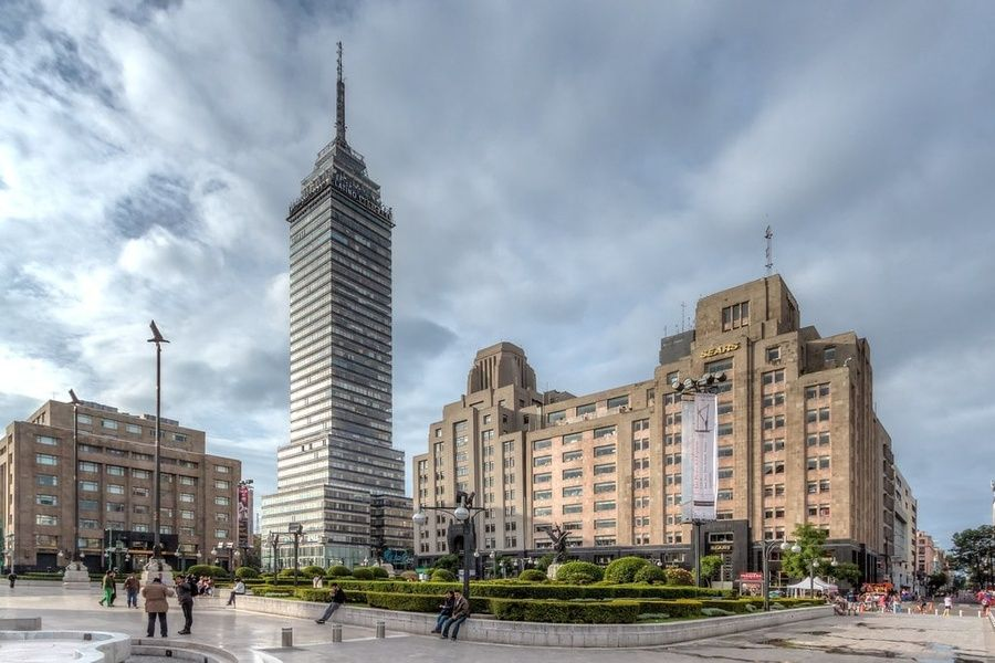 Taking in the view at Torre Latinoamericana is a great thing to do in Mexico City