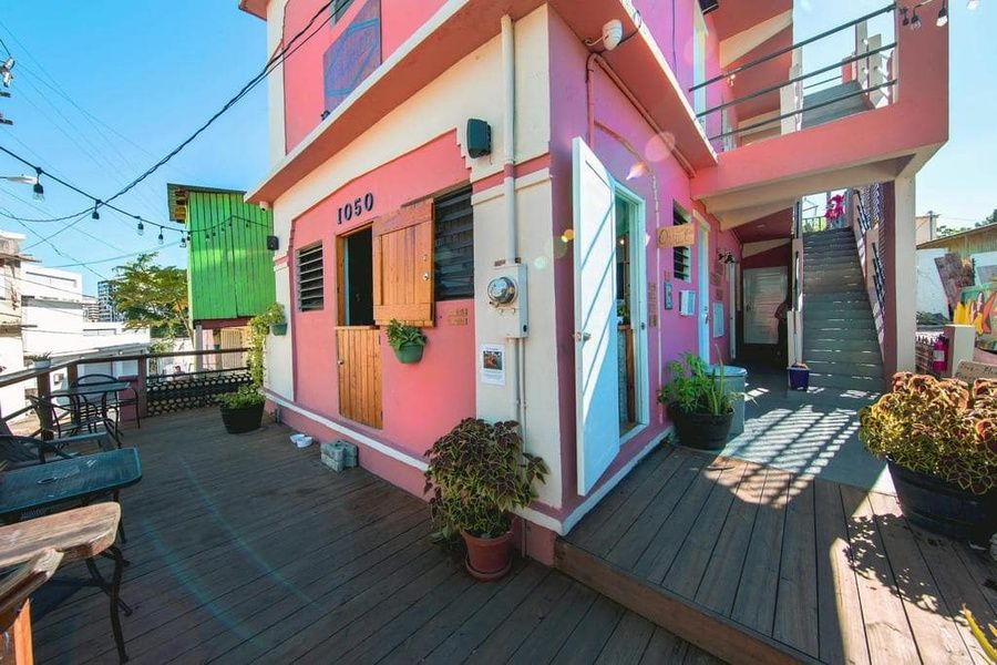 Casa Santurce is a lovely hostel in Puerto Rico