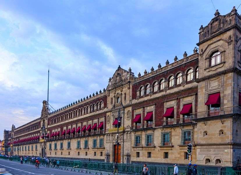 Palacio Nacional is what to do in Mexico City
