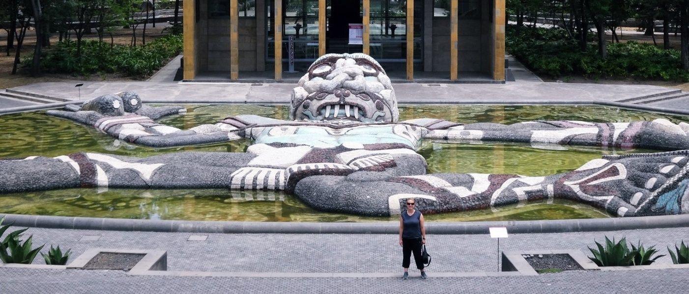 Fuente De Tlaloc Mexico City Landmarks