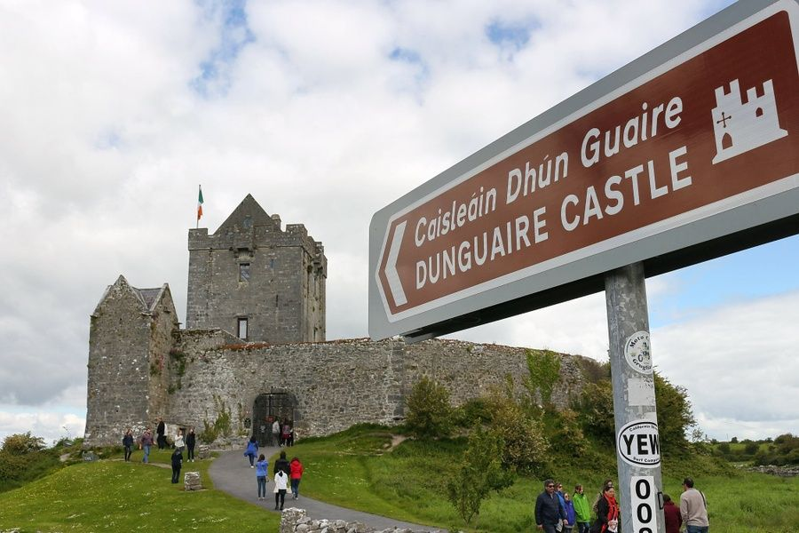 Visiting Dunguaire Castle is one of the best things to do in the west of Ireland