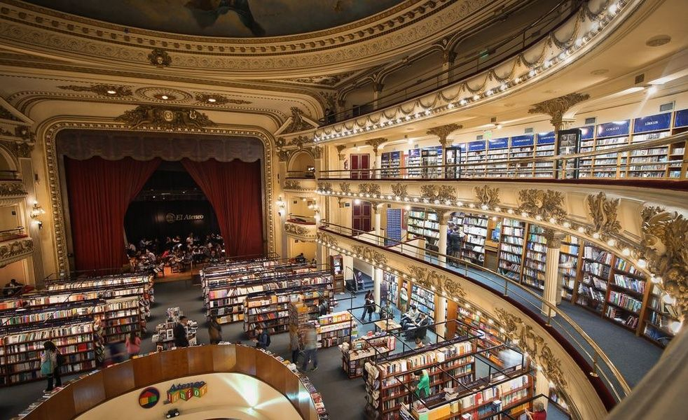 Browsing books at El Ateneo Grand Splendid is a top thing to do in Buenos Aires