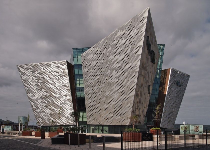 The Titanic Museum in Belfast is a very cool place to visit in Ireland