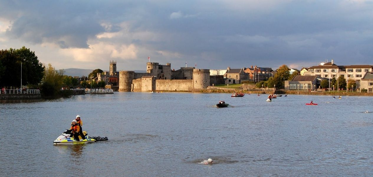 Kayaking the River Shannon is one of the best things to do in Shannon Ireland