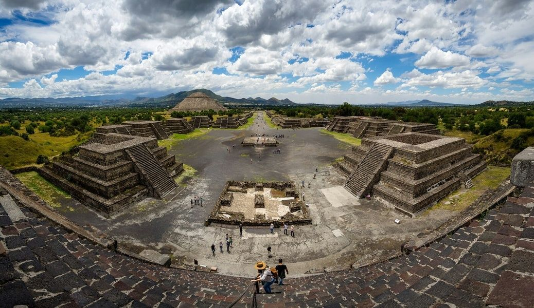 The Pyramids of Teotihuacan are an attraction you want to visit during your Mexico City Travel