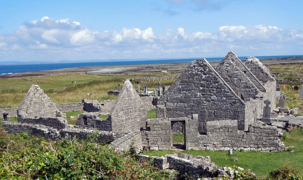 Exploring the Aran Islands is a cool thing to do in Galway Ireland