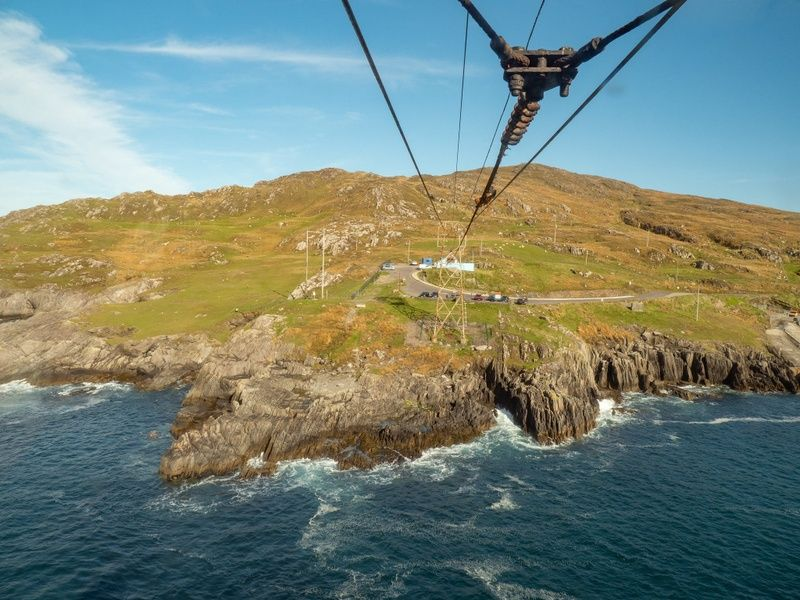 The Dursey Island Cable Car is off the beaten path in Ireland (literally!)