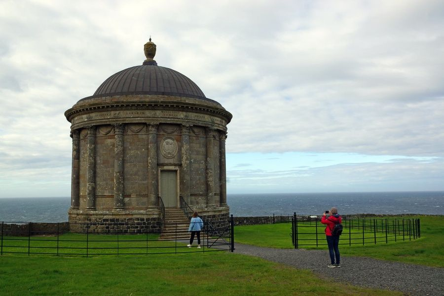 Exploring the Mussenden Temple is one of the coolest things to do in Northern Ireland