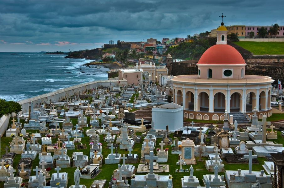 Santa Maria Magdalena de Pazzis Cemetery is one of the top attractions in San Juan