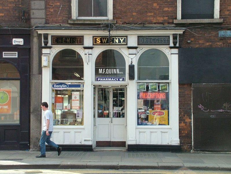 Sweny's Pharmacy is off the beaten path in Ireland