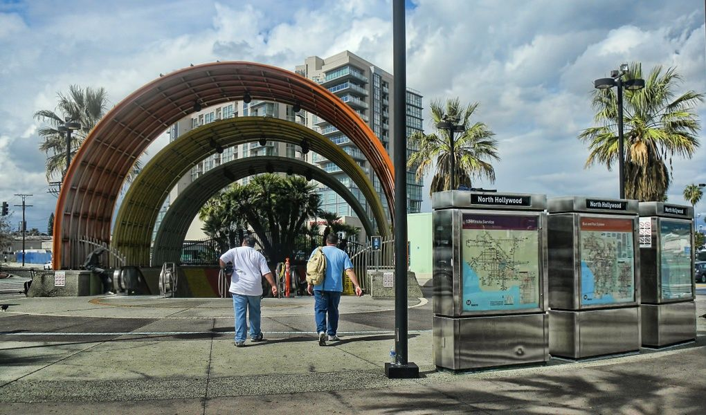 A good way to budget travel in Los Angeles is to use the city's excellent public transportation