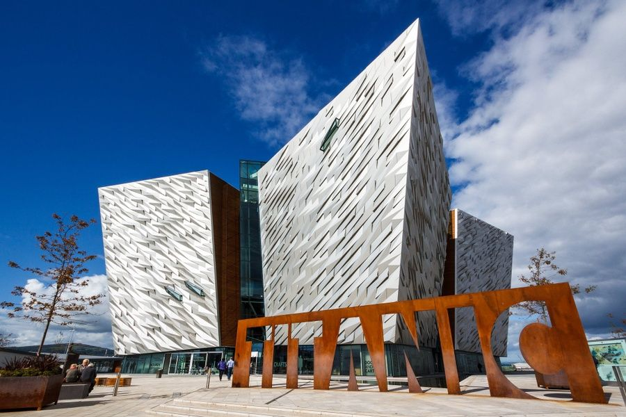 Exploring the Titanic Belfast museum is one of the coolest things to do in Northern Ireland