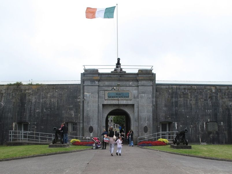 Visiting Spike Island is a cool thing to do in Cork Ireland