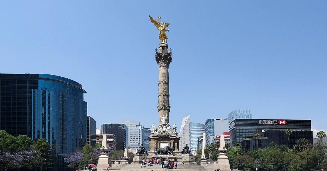 El Angel Mexico City Landmarks