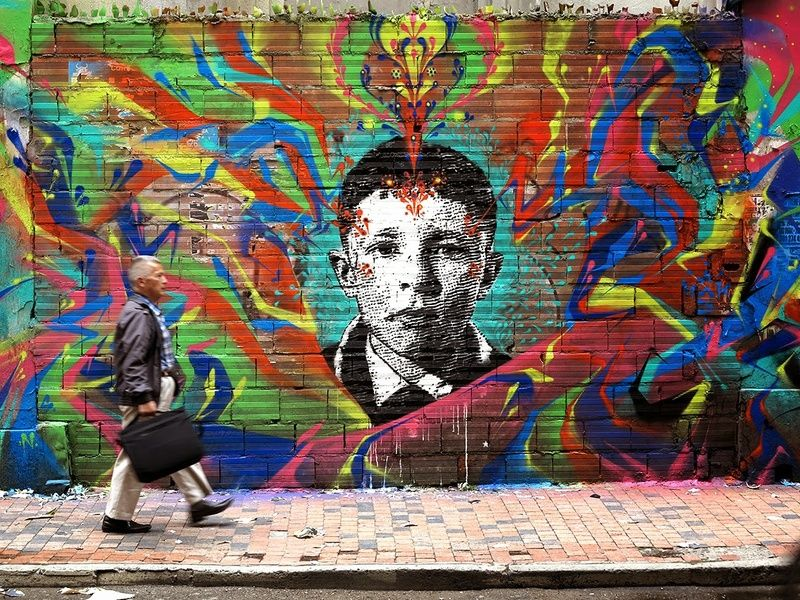 Travel to Colombia to see the unparalleled street art