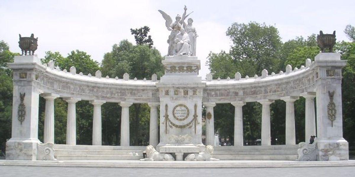 Benito Juárez Hemicycle Mexico City Landmarks