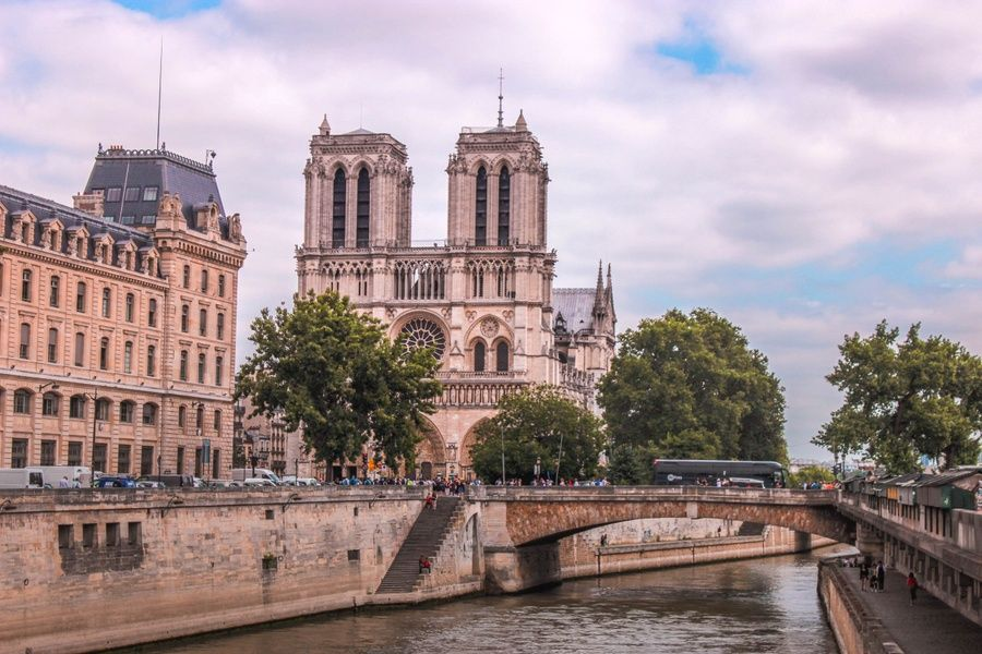 Visiting Notre Dame is one of the coolest things to do in France