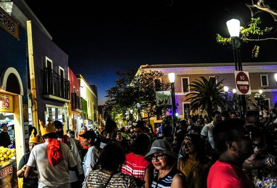 San Sebastian Street Festival is one of the fun things to do in san juan puerto rico