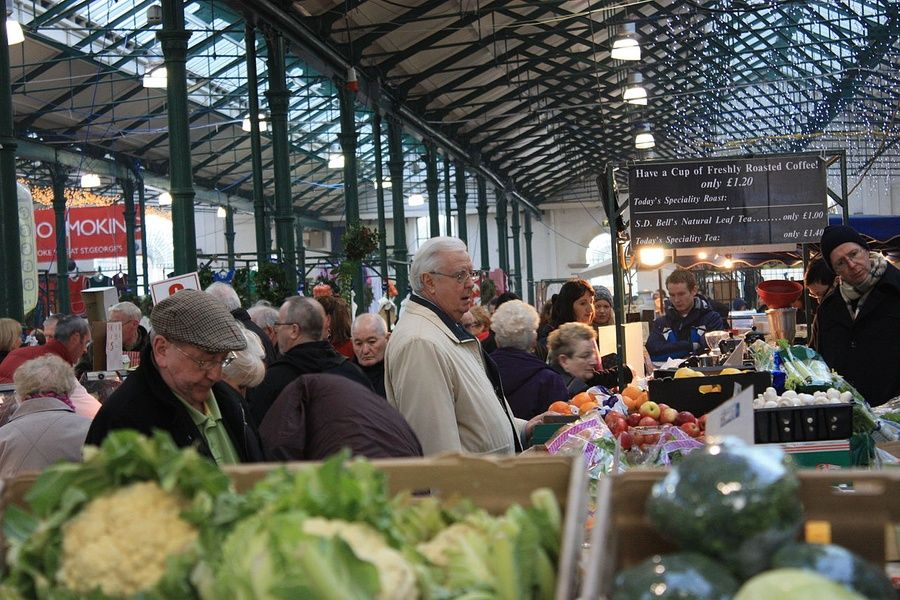 Snacking at St. George's Market is a great thing to do in Belfast ireland
