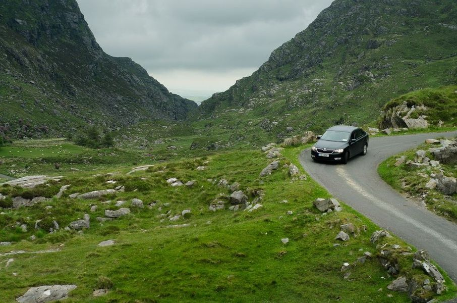 What not to do in Ireland: drive offensively