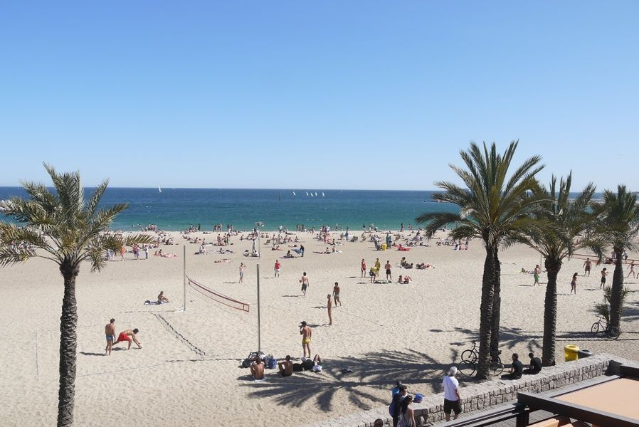 The beaches in Spain are safe but drink plenty of water and wear sunscreen