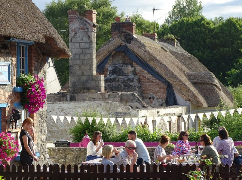 Strolling through Village Adare is a wonderful thing to do in Limerick