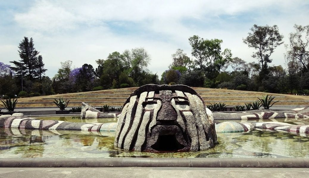 Fuente de Tlaloc  is one of the greatest Mexico City attractions