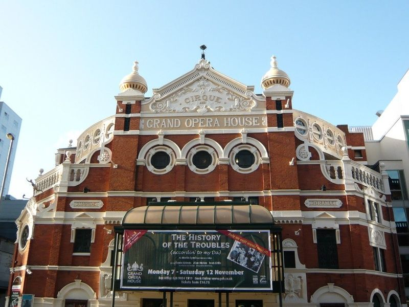 Seeing a show at the Grand Opera House is a great thing to do in Belfast Ireland