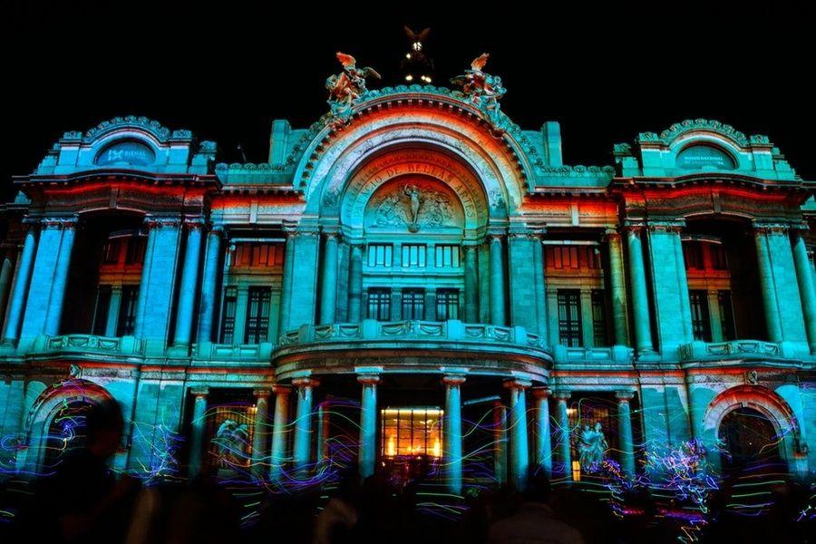 A show at Palacio de Bellas Artes is a great choice for 3 days in Mexico City