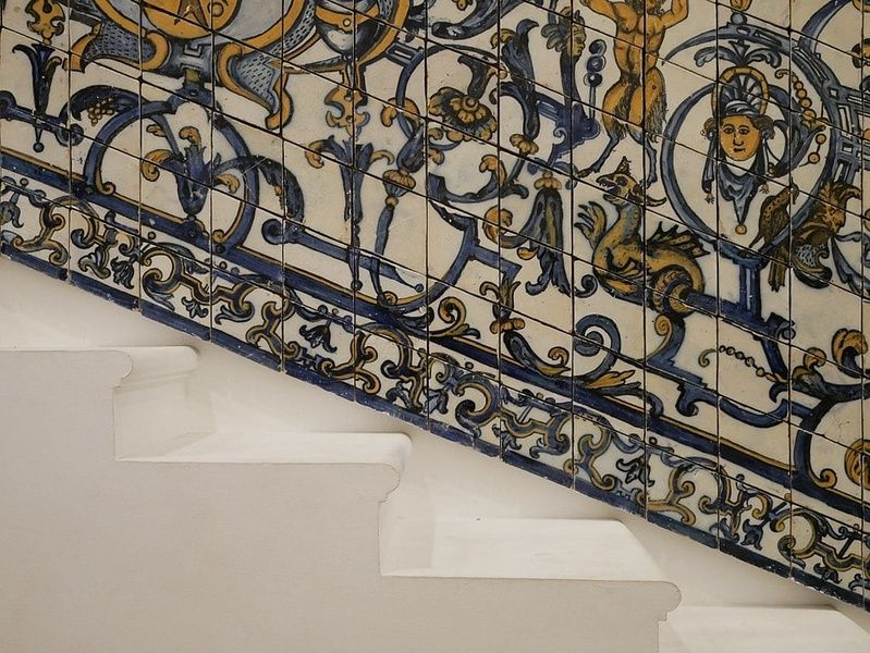 The Museo Nacional do Azulejo is an amazing place to visit in Portugal