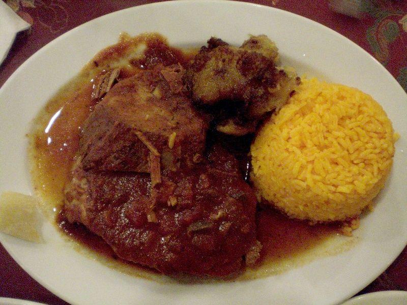 Cuban food boliche