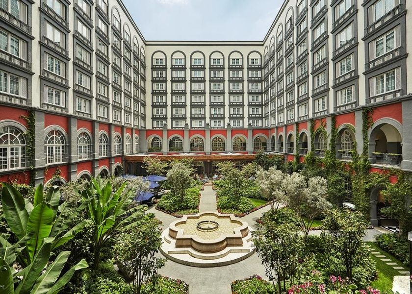 The Four Seasons Hotel is not a resort in Mexico City, but it is a pretty great hotel