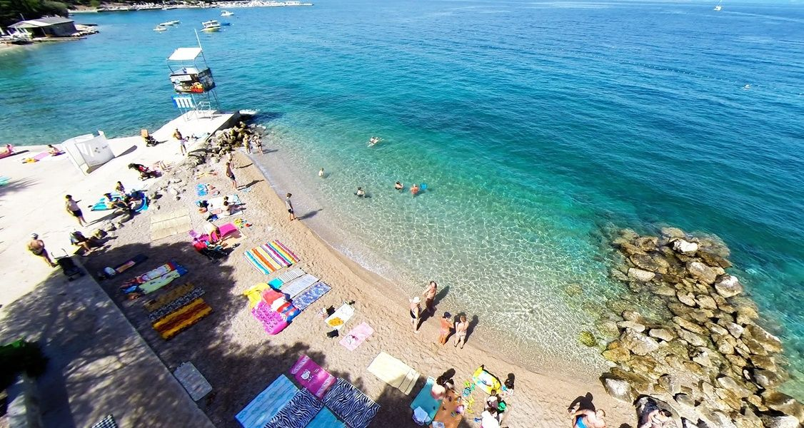 Where to stay for small town beach vibes? Krk