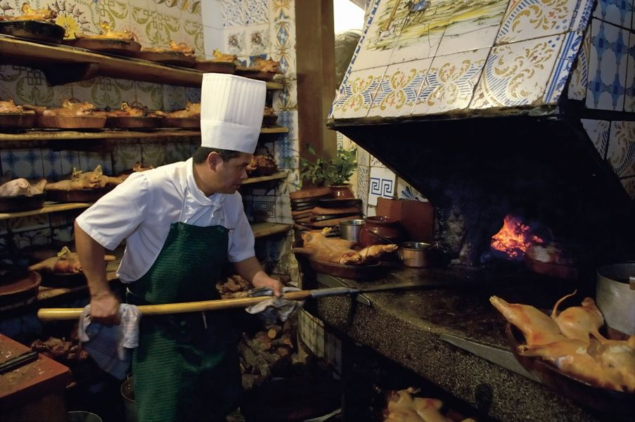 Eating at Botin, the world's oldest restaurant, is an awesome thing to do in Spain