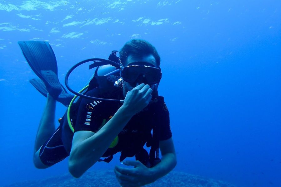 Scuba diving is one of the best things to do in Costa Rica
