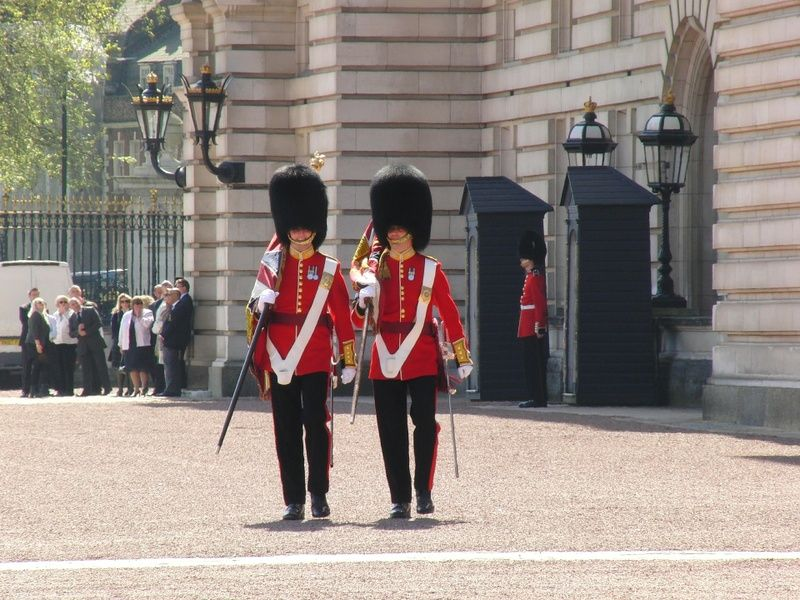 Watching the changing of the Guard is an awesome thing to do in London