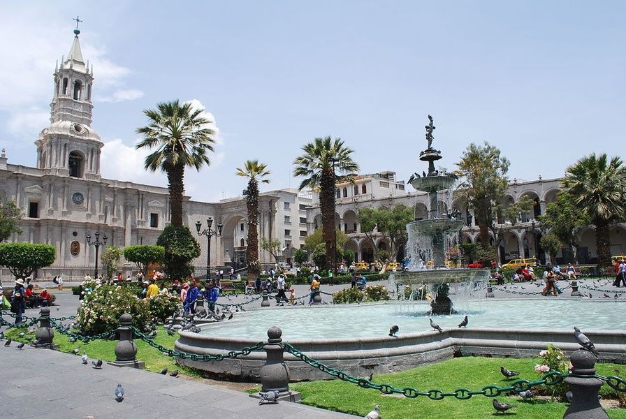 Arequipa is one of the best places to visit in Peru