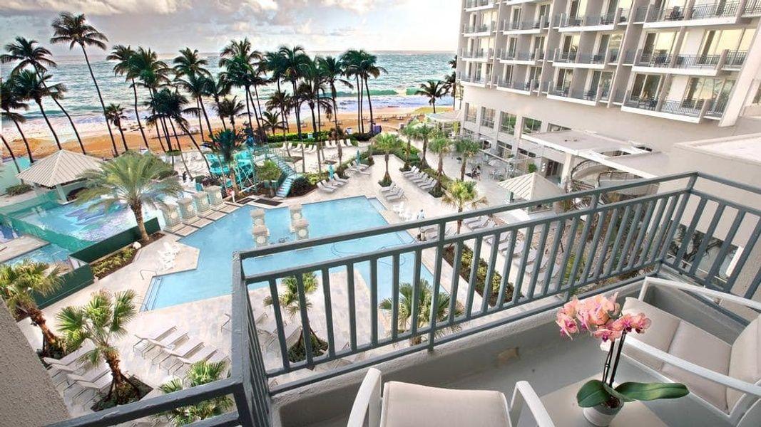 San Juan Marriott Resort and Stellaris Casino is a gorgeous Puerto Rico family resort